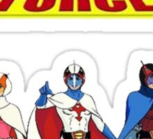 The Cool Movie Cartoon G-Force Sticker