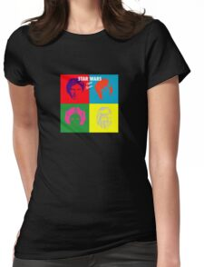 Hyper Space Womens Fitted T-Shirt