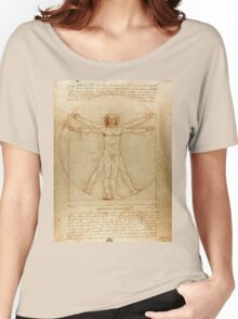 Leonardo Da Vinci's Vitruvian Man Women's Relaxed Fit T-Shirt