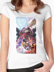 Megaman Zero Women's Fitted Scoop T-Shirt