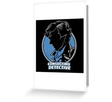 Sherlock Consulting Detective Greeting Card