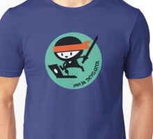 ninja developer programming language Unisex T-Shirt