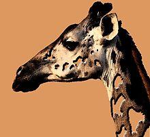 giraffe by tinncity