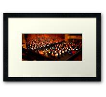 tiny symphony Framed Print