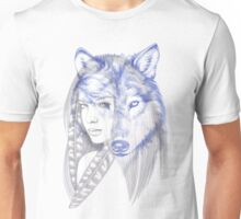 She Wolf Unisex T-Shirt