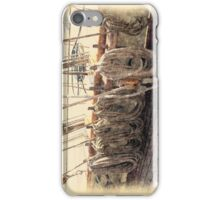 Pride of Baltimore II (Lines) iPhone Case/Skin