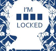 I'm sherlocked V.2 Sticker
