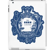I'm sherlocked V.2 iPad Case/Skin