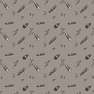 Brown cigars pattern by Thubakabra