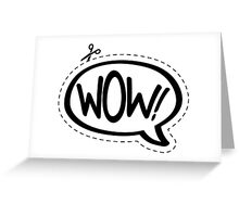 Yo!Cards - Wow! Greeting Card