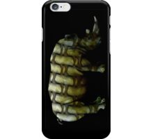 rhino muscles iPhone Case/Skin