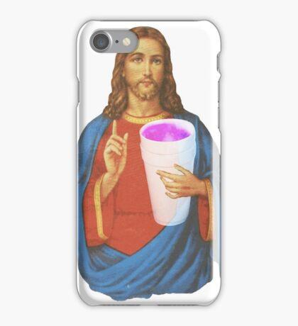 Jesus X Lean thuggin iPhone Case/Skin