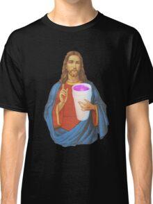 Jesus X Lean thuggin Classic T-Shirt