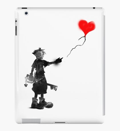 the boy,the key,the balloon iPad Case/Skin