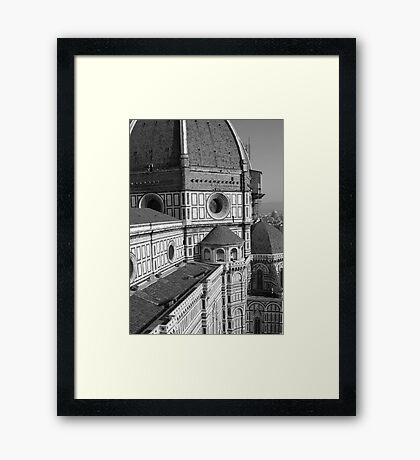 eye level Framed Print