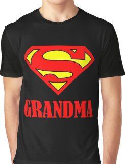 Super Grandma Graphic T-Shirt