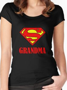 Super Grandma Women's Fitted Scoop T-Shirt