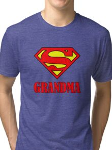 Super Grandma Tri-blend T-Shirt