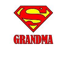 Super Grandma Photographic Print