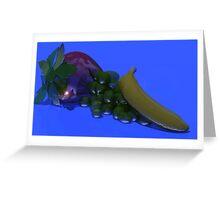 glass fruit Greeting Card