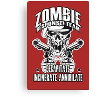Zombie Response Team Canvas Print