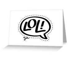 Yo!Cards - Lol! Greeting Card