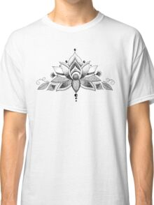 Graceful Lotus Classic T-Shirt