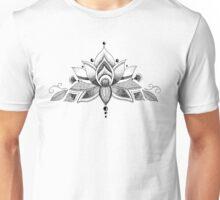 Graceful Lotus Unisex T-Shirt