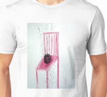CABEZA EN SILLA (head on a chair) Unisex T-Shirt