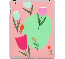 tulips in retromood 1 iPad Case/Skin
