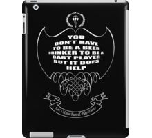 Let's have fun and play darts. iPad Case/Skin
