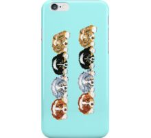 Australian Shepherd Puppies all 4 colors iPhone Case/Skin