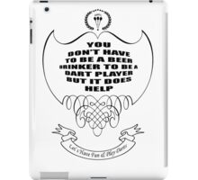 Let's have fun and play DARTS!!! iPad Case/Skin