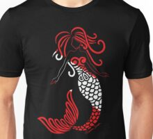 Tribal Scuba Flag Mermaid Unisex T-Shirt