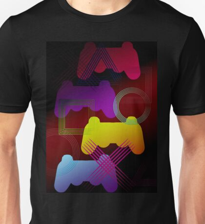 Gaming Colors  Unisex T-Shirt