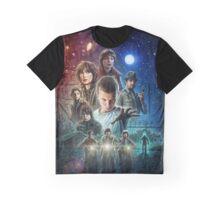 Stranger Things Art Graphic T-Shirt