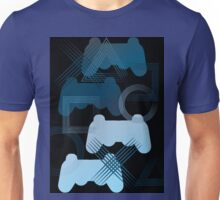 PS3 Gaming blue Unisex T-Shirt