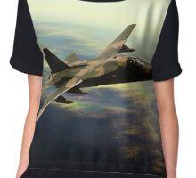 F-111 Aarvark Chiffon Top