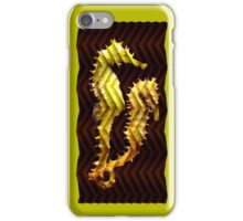 sea horsing iPhone Case/Skin