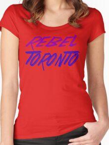 Rebel Toronto Women's Fitted Scoop T-Shirt