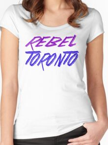 Rebel Toronto Women's Fitted Scoop T-Shirt