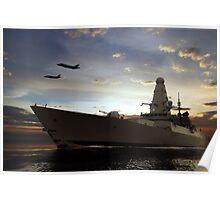 Naval Warfare Poster