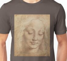 Portrait of a woman by Leonardo Da Vinci Unisex T-Shirt