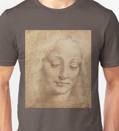 Portrait of a woman by Leonardo Da Vinci Unisex T-Shirt