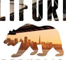 California Skyline Sticker