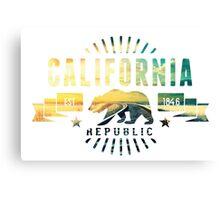 California Railway Canvas Print