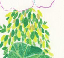 Leaf cloak Sticker