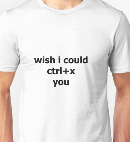 Ctrl+x Unisex T-Shirt