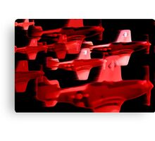 catch the red eye Canvas Print