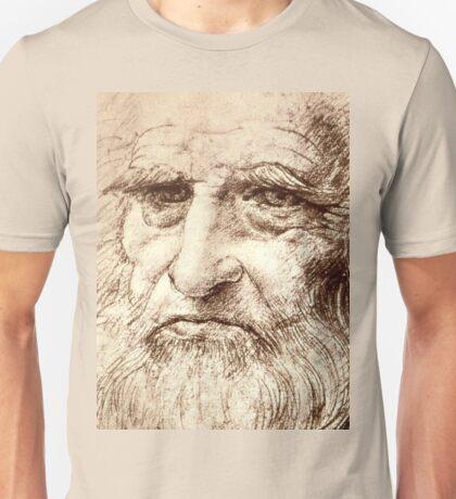 Leonardo Da Vinci Self portrait Unisex T-Shirt